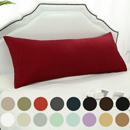 Body Pillow Case Soft 1800 Series Microfiber Long Bedding Bo
