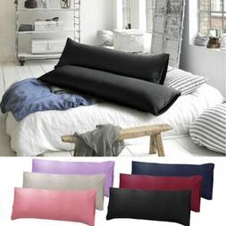 1-2PCS Body Pillow Cover Soft Microfiber Long Pillow Case fo