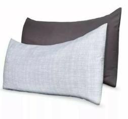Room Essentials Body Pillow Covers Set Of 2 Microfiber Pillo