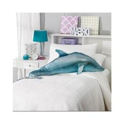 Body Pillow For Kids Dolphin Fish Animal Oversized Snuggle T