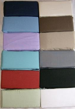 BODY PILLOWCASES 12 COLORS for the 20 X 60 PILLOW or DAKIMAK