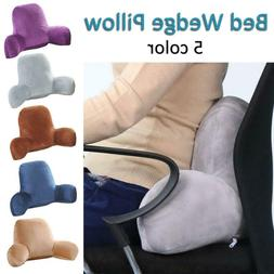Body Wedge Pillow Sofa Waist Pad Positioners Backrest Bed Zi