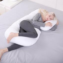 C Shape Total Body Pregnancy  Pillow  Sleep Maternity Comfor