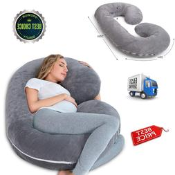 C Shaped Body Pillow For Pregnant Women Pregnancy Maternity