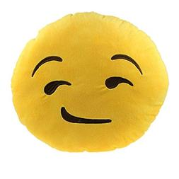 Welcomeuni Car Home Office Accessory Emoji Smiley Smirking C