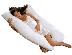 CC&DD-Pregnancy Body Pillow, U Contoured ,Support For Side S
