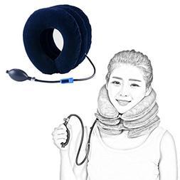 Sujing Cervical Neck Traction Device Inflatable Cervical Pil