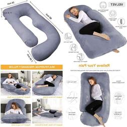 Chilling Home Pregnancy Pillow, 60 Inches Full Body Pillow M