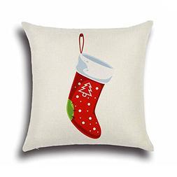 SODIAL Christmas Socks Sofa Bed Home Decoration Festival Pil