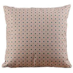Lumimi Classic Dots Pink Decorative Pillow Cover