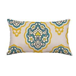 Clearance Square Pillow Cases,Jushye Geometric Lines Sofa Be