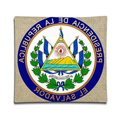 Loveoorheeb Coat Of Arms Of El Salvador Unisex-adult Home De