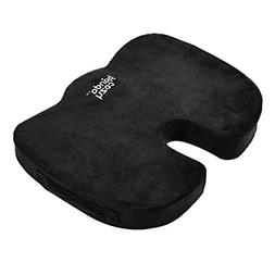Coccyx Orthopedic Memory Foam Seat Cushion For Sciatica, Tai