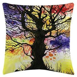 Lumimi Colorful Daphne Velvet Decorative Pillow Cover