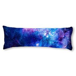 AILOVYO Colorful Pink Blue Galaxy Nebula Pattern Machine Was