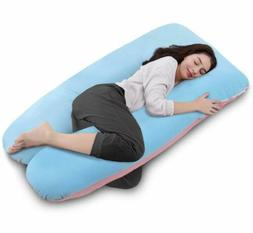 Comfort U Total Body Support Pillow Full Size QUEEN ROSE ©