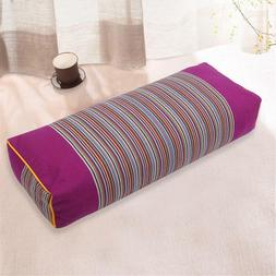 Comfortable Bedding Pillow Striped Pattern Pillow Rectangle