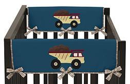 Sweet Jojo Designs Construction Zone Trucks Teething Protect