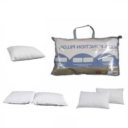 Convertible Multi-Function Standard Pillow - Firm -> Low ->
