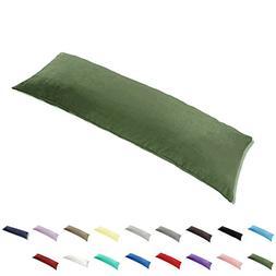 TAOSON 100% Cotton 300 Thread Count Envelope Style Body Pill