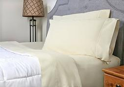 Whisper Organics 100% Organic Cotton Sheet Set, 500 Thread C