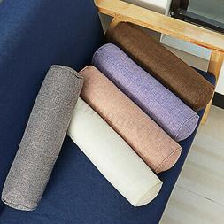Cotton Mushy Throw Round Long Roll Tube Pillows Rectangular