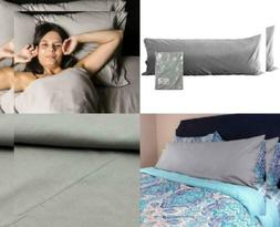 Darware 100% Cotton Body Pillow Case Cover ; 20 x 54 Inches