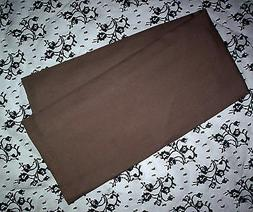 Cotton rich/Chocolate Brown/Pillowcase/Case for Body Pillow/