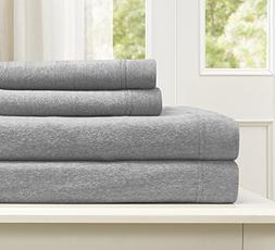 Morgan Home Fashions Cotton Rich T-Shirt Soft Heather Jersey