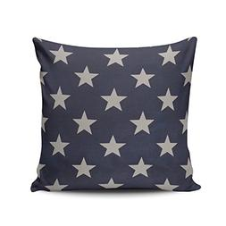 Salleing Custom Fashion Home Decor Pillowcase Blue Star Flor