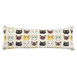cute cats pattern pillowcase