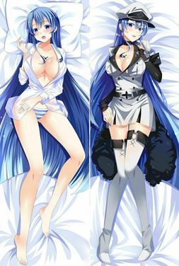 Dakimakura Esdeath Akame Ga Kill Kill! Body Pillow Case Anim