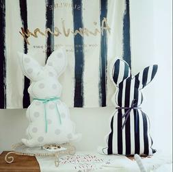 Decorative bunny pillows rabbit cushions body pillow bolster