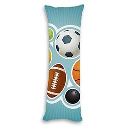 Decorative Body Pillowcase Balls Body Pillow Cover 20x54 inc