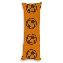 decorative pillowcase football pillow cover