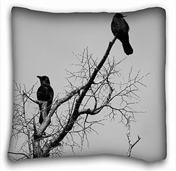 Decorative Square Throw Pillow Case Animals Birds animals bi