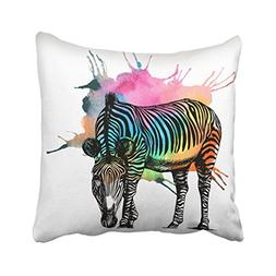 Emvency 18X18 Inch Decorative Throw Pillow Cover Polyester C