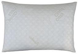 CozyCloud Deluxe Bed Pillows Hypoallergenic Bamboo Shredded