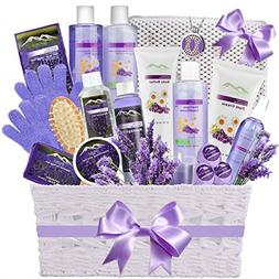 Deluxe Spa Gift Basket for Women - Super Large Lavender Esse