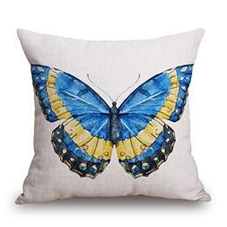 Elliot_yew Designs Original Vintage Pattern Colorful Butterf