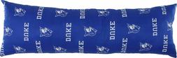"""College Covers Duke Blue Devils Printed Body Pillow, 20"""" x 6"""