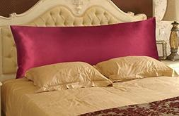 Durable Satin Silky Body Pillow Cover / Bodypillow protector