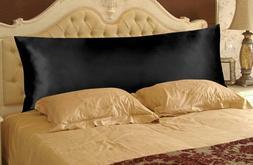 OctoRose Durable  Silky Satin Pillow Case, Body Pillow Case,