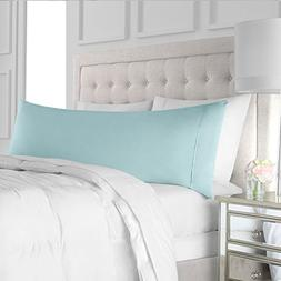 Egyptian Luxury Soft Brushed Microfiber Body Pillow Pillowca