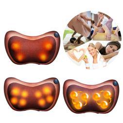 Electric Massage Pillow Lumbar Body Neck Back Shiatsu Kneadi