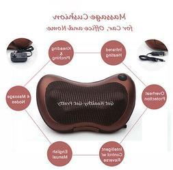 Electric Shiatsu Massage Cushion Pillow Massager Personal Fu