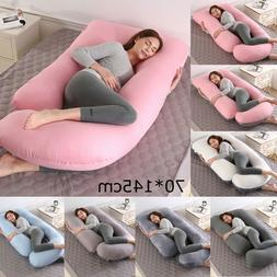 Extra J-Shape Pregnancy Pillow Full Body Maternity Sleeping