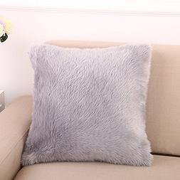 "LISASTOR 18"" x 18"" Fahion Decorative Home Plush Pillow Case"
