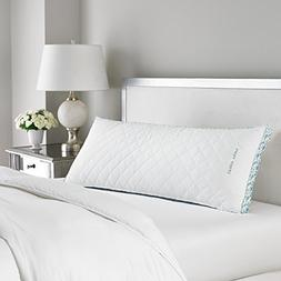 Laura Ashley Firm Density Ava Quilted Body Pillow - Hypoalle
