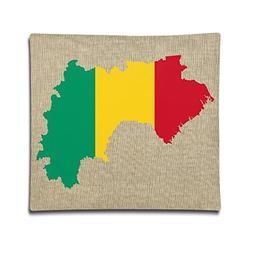 Loveoorheeb Flag Of Guinea Unisex-children Home Decor Cotton